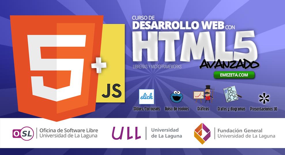 Desarrollo web avanzado con HTML5
